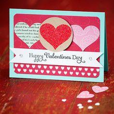 Unique Homemade Valentine Card Design Idea -  Family Holiday