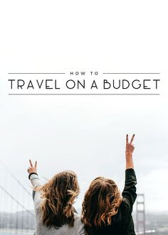 Looking to save money but got travel on your mind? Don't worry! Here are some tips for traveling on a budget!