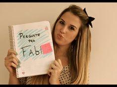 Pergunte pra Fabi: Blog/ Como começou/ Niina Secrets. Fabi Santina loira