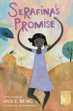 Living in abject poverty in Haiti, 11 year old Serafina makes a secret promise to her deceased little brother Pierre that she will someday go to school and become a healer. Review by Randomly Reading.