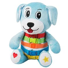 BUCKLE TOY Barkley Dog  Toddler Early Learning Basic Life Skills Childrens Plush Travel Activity ** You can get additional details at the image link.Note:It is affiliate link to Amazon.