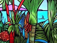 Painting Canvas Ideas Nature Design Studios New Ideas Primary School Art, Classroom Art Projects, School Murals, New Zealand Art, Nz Art, Maori Art, Artists For Kids, Plant Art, Cool Paintings