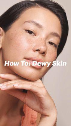 Fresh Face Makeup, Dewy Makeup, Beauty Makeup, Hair Makeup, Hair Beauty, Natural Beauty Tips, Health And Beauty Tips, Natural Makeup, Coconut Oil Massage
