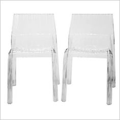 Just purchased charo clear acrylic see-through dining chair from http://CozyDays.com for $132.5
