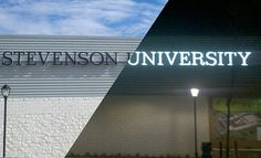 I would like to transfer to Stevenson University and continue my education there.