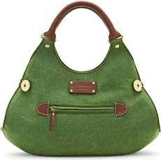 Love this green bag by Kate Spade