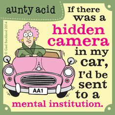 Aunty Acid by Ged Backland Tuesday, September 23, 2014
