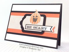 Holiday Invitation, Fall Fest, Cheerful Tags, Stampin' Up!, Brian King