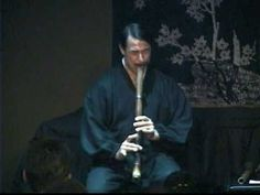 One of my favorite Shakuhachi players. Shakuhachi master Riley Lee performs San'an