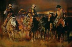 Chris Owen Artist Cowboy and Western Art Prints capture the ranch style life in all it detail. Cattle drives, Horses and more. Chris Owen, Cowboy Images, Southwest Art, Western Art, Western Homes, Western Decor, Western Style, Country Art, Country Life