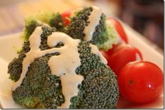 Savory Sunflower Seed Dressing with Herbs. OH GOD I LOVE BROCCOLI(there, I did it for you)