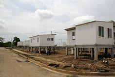 Casas entregadas por Colombia Humanitaria a personas afectadas por la emergencia de lluvias
