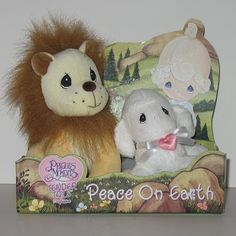 Peace on Earth - lion and lamb Tender Tails