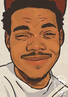 chance the rapper cartoon - Google Search