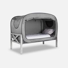 Privacy Pop®: The Bed Tent (Lavender). Tent Camping Beds, Bed Tent, Outdoor Camping, Camping Outdoors, Glamping, Camping Room, Floor Bed Frame, Futon Bed, Bed Springs