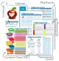 Printables for 21 Day Fix