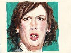 Michael Frith Illustrator - Watercolour, Portraits Illustrations