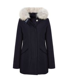 dabbbeb8e0469 Women s Arctic Parka in Black Purple Tea by WOOLRICH® John Rich   Bros.  Cappotti
