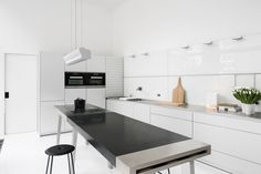 bulthaup - combinatie b2 werktafel met b3 keuken - realisatie door k vorm