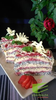 Sweets Cake, Polish Recipes, Food Cakes, Sweet Desserts, Cake Cookies, No Bake Cake, Cake Recipes, Food Porn, Good Food