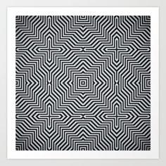 Art Print https://society6.com/product/minimal-geometrical-optical-illusion-style-pattern-in-black-white_print#s6-6058727p4a1v45