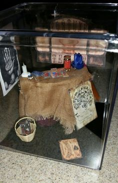 """Halloween The Fortune Teller Use as Is Take Out 1"""" Scale Artisan Made by LDD   eBay"""