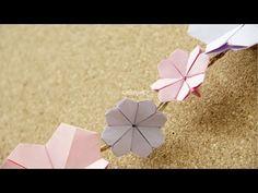 Origami: Flor de Cerezo paso a paso  //     Origami Cherry Blossom step by step.