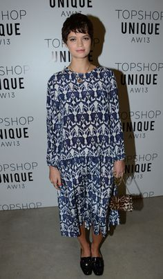 Pixie Geldof at Topshop Unique
