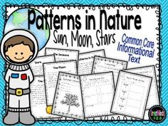 The unit is 40+ pages and includes information about the patterns of the moon, sun, stars and seasons.  We created this unit with the new Common Core science standards in mind.  There are resources here that are designed to be used in a first grade classroom as well as resources for second and third grade classrooms. $3.00