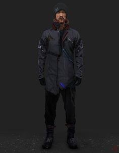 ArtStation - Scifi Clothes, Lucas Hurtado