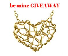 #CONTEST be mine #GIVEAWAY! I'm sharin' some love!  Enter for a chance to WIN this CHAOS HEART NECKLACE on Valentine's Day! Here's how:  LIKE my Anne Woodman Jewelry Design Page (not this post but my page) OR SHARE this post on your own Facebook page.  A winner will be drawn at random from all the likes and shares on  Tuesday, February 14th at 2pm EST.   *Winner will be announced on my page and contacted via Facebook messenger.  #valentinesday #jewelry #heartnecklace #promotion