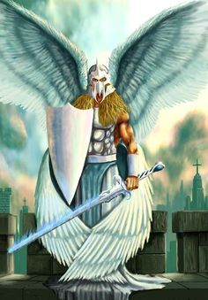 Spiritual warfare and demonology is a reality.Yet most Christians seem to be blind to spiritual warfare and demonology, not realizing that we have an invisible enemy. Archangel Gabriel, Archangel Michael, Michael Angel, Angels Among Us, Angels And Demons, Male Angels, Angel Warrior, Prayer Warrior, Demonology