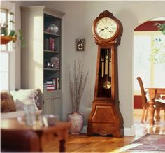 grandfather clocks-my husband loves these