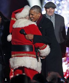 The First Family Obama Attended The LAST & FINAL The National Christmas Tree Lighting The White House December 1, 2016