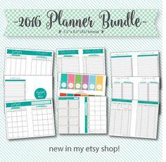 2016 planner bundle small