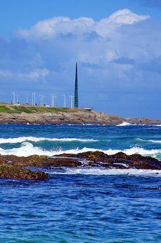 A Coruña La Corogne Galice Espagne 200 - Av Pedro Barrié de la Maza, la plage