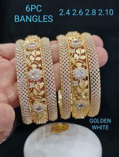 Fancy Jewellery, 18k Gold Jewelry, Antique Jewelry, Jewelery, Temple Jewellery, Gold Ring Designs, Gold Bangles Design, Gold Jewellery Design, Bangle Set