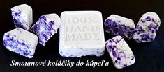 Smotanové koláčiky do kúpeľa Soap, Handmade, Diy, Hand Made, Bricolage, Craft, Soaps, Do It Yourself, Fai Da Te