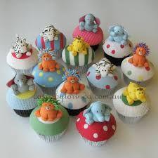 Resultado de imagen para cupcakes animals