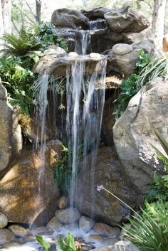 Wasserfall im Garten➕More Pins Like This At FOSTERGINGER @ Pinterest ➕