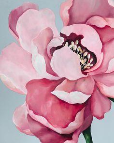 La imagen puede contener: flor y planta Watercolor Flowers, Watercolor Paintings, Art Anime, Mural Art, Botanical Art, Painting Inspiration, Painting & Drawing, Flower Art, Illustration Art