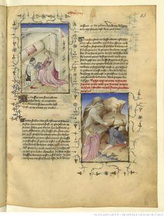 L'Epistre Othea à Hector, fol Female Poets, Media Studies, Medieval Art, Old Books, Oeuvre D'art, Pouches, Study, Friends, Bags