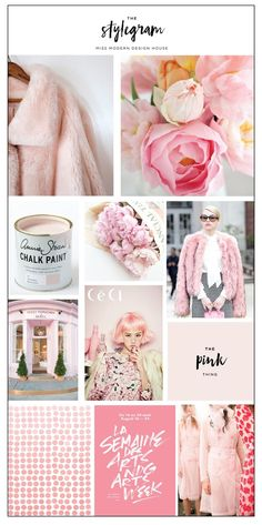 The Stylegram from Deluxemodern. This issue includes Color Theory, a Rosé Slushy, and a Pink Color Palette that will change the way you think of pink.