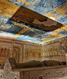 Ancient Egyptian Architecture, Ancient Egyptian Artifacts, Ancient Egypt Art, Ancient Ruins, Ancient History, Ancient Astronaut Theory, Valley Of The Kings, Luxor, Art And Architecture