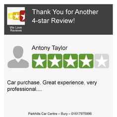 Check out this 4-star review from one of our customers! Have you posted on our review page yet? Review us today: https://hoy.cc/1ql