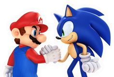 If you went back to 1995 and told anyone on the 3rd grade playground that Mario and Sonic would one day co-star in a videogame together, fights woulda broke out.