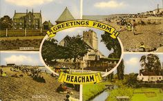 HEACHAM(Norfolk) :Greetings from Heacham multiview-MILLAR & LANG-NATIONAL series | eBay