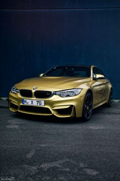 golden BMW M4 Get your BMW paid by the #1 fitness company in North America.  For more information go to http://c.vi.com/3207085