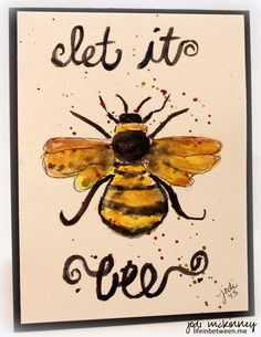 let-it-bee-bumble-bee-watercolor.jpg (2423×3139)