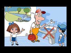 Su Tasarrufu (Resimli Anlatım) #sutasarrufu #sugünü #dünyasugünü #hayatbilgisi Baby Songs, Kids Songs, Video Film, Baby Kids, Sons, Family Guy, Clip Art, Youtube, School